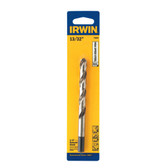 "Irwin 73826 Drill Bit, 3/8"" Reduced Shank, 13/32"", Carded"