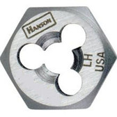 "Irwin 7752 Hex Die, Rethreading, Left Hand, 5/8"" - 11 NC"