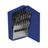 Irwin 80183 Drill Bit Set, 20 Piece, High Speed Steel, Number Drills, 61 to 80