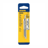 Irwin 80221 Tap and Drill Bit Set, 10-32 NF High Carbon Steel Plug Tap, # 21 High Speed Steel Drill Bit, Carded