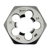 Irwin 8569 24.0M-3.00M High Carbon Steel Hex Die