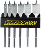 Irwin 88898 Speedbor Flat Wood Boring Spade Bit Set - 6 Piece