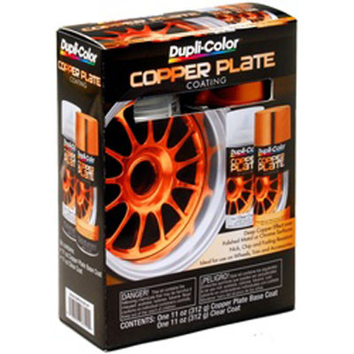 Duplicolor CK100 Copper Plate Kit