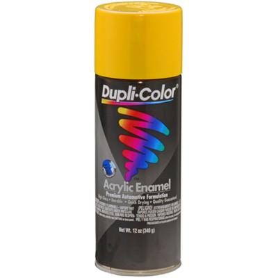 Duplicolor DA1687 General Purpose Enamel Chrome Yellow (Hot Rod Color) 12 Oz. Aerosol