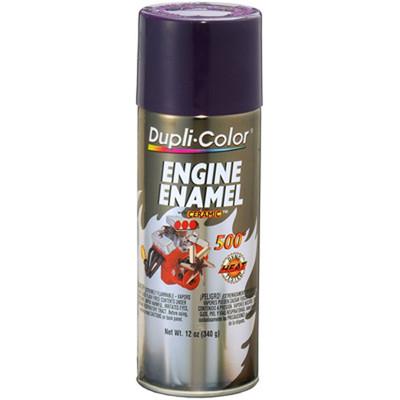 Duplicolor DE1640 Engine Enamel Paint, Plum Purple, 12 Oz Can