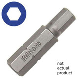 Irwin 92515 6mm Hex Head Insert Bit 1-1/4""