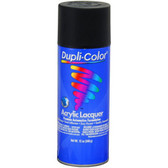Duplicolor DAL1607 General Purpose Lacquer Flat Black 12 Oz. Aerosol