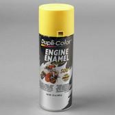 Duplicolor DE1642 Engine Enamel Paint, Daytona Yellow, 12 Oz Can