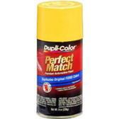 Duplicolor BFM0363 Perfect Match Automotive Paint, Ford Chrome Yellow, 8 Oz Aerosol Can