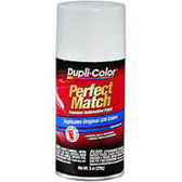 Duplicolor BGM0387 Perfect Match Automotive Paint, GM Pure White, 8 Oz Aerosol Can