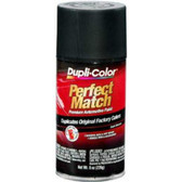 Duplicolor BUN0104 Perfect Match Automotive Paint, Universal Flat Black, 8 Oz Aerosal Can