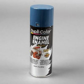 Duplicolor DE1609 Engine Enamel Paint, Chevrolet Blue, 12 Oz Can