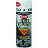 Duplicolor RTA9200 Krylon Rust Tough Enamel Paint, Gloss White, 12 Oz Can, One Coat Coverage, Low Odor