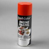 Duplicolor DE1632 Engine Enamel Paint, Chrysler Industrial Red, 12 Oz Can