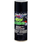 Duplicolor HVP106 Vinyl & Fabric Spray High Performance Flat Black 11 Oz. Aerosol
