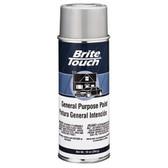 Duplicolor BT43 Brite Touch Automotive & General Purpose Paint Flat Black 10 Oz. Aerosol