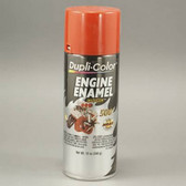 Duplicolor DE1607 Engine Enamel Paint, Chevrolet Orange Red, 12 Oz Can