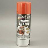 Duplicolor DE1607 Engine Enamel Paint, Chevrolet Orange Red, 12 Oz Can