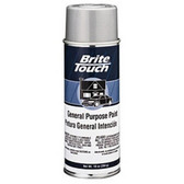 Duplicolor BT55 Brite Touch Automotive & General Purpose Paint Semi-Gloss Black 10 Oz. Aerosol