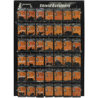 Auto Body Dr. ABD-1 Shield Retainers Display
