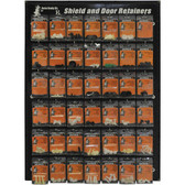 Auto Body Dr. ABD-2 Shield & Door Retainer Display