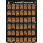 Auto Body Dr. ABD-4 Trim Screws Display