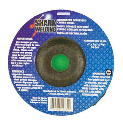 "Shark 12734 3 Pack 4 X 1/2 X 1/4 X 7/8"" Depressed Center Wheel"