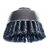 "Shark 14042 3""X 5/8-11 Knotted Wire Cup Brush"