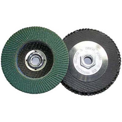 "Shark 12907 45"" Zirc Flap Wheel 5/8-11 Arbor"