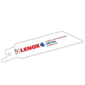 "Lenox 20553-S418R Tuff Tooth Reciprocating Saw Blade 4"" x 18 TPI - 5 Pack"