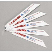 "Lenox 20568-624R Metal Cutting Reciprocating Saw Blade 6"" x 24 TPI - 5 Pack"