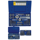 Irwin 97312 Tap and Die Set, 66 Piece, Hex Dies, 3mm to 24mm with Handles in Plastic Case