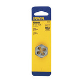 "Irwin 9737 Hex Die, High Carbon Steel, 1"" Across the Flat, 9mm x 1.25, Carded"