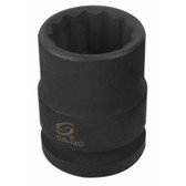 "Sunex 424ZT 3/4"" Dr. 12 Pt. 3/4"" Thin Wall Impact Socket"