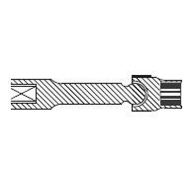 "Sunex 210ZUMDL 1/2"" Dr. 12 Pt. 10mm Driveline Limited Clearance Impact Socket"