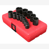 "Sunex 3360 3/8"" Dr. 12 Pc. SAE Impact Socket Set"