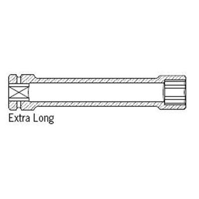 "Sunex 433MXL 3/4"" Dr. 33mm Extra Long Impact Socket"