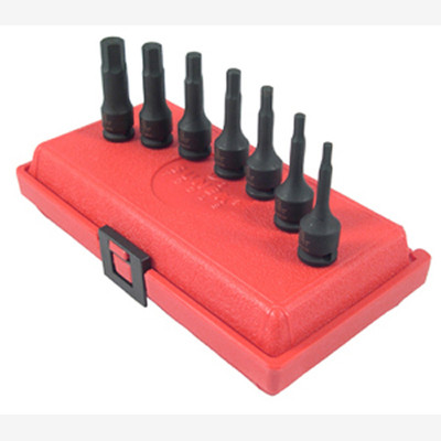 "Sunex 3648 3/8"" Dr. 7 Pc. Metric Hex Impact Socket Set"