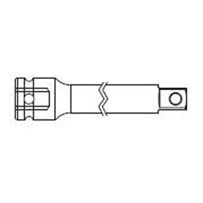"Sunex 2536T 1/2"" Dr. 36"" Extension for Transmissions 1/2"" Female x 3/8"" Male"
