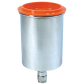 Astro Pneumatic 354006 Aluminum Gravity Feed Cup .6 Liter
