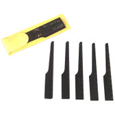 Astro Pneumatic 5SAW 5 piece Blade Set For Yellow Sleeve