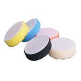 "Astro Pneumatic 4638 3"" White Diamond Cut Polishing Pad"