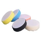 "Astro Pneumatic 4635 3"" Yellow Diamond Cut Foam Pad"