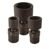 "Sunex 810UM 1/4"" Dr. 10mm Universal Impact Socket"