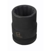 "Sunex 416MZT 3/4"" Dr. 12 Pt. 16mm Thin Wall Impact Socket"