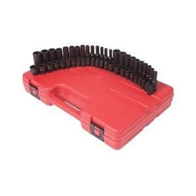 "Sunex 1848 48pc 1/4"" Dr. Impact Socket Set"