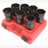 "Sunex 2847 1/2"" Dr. 7 Pc. Wheel Bearing Lock Nut Set"