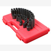 "Sunex 3329 3/8"" Dr. 29 Pc. Metric Master Impact Socket Set"