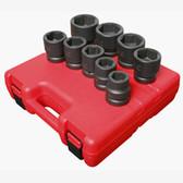 "Sunex 5699 1"" Dr. 9 Pc. SAE Impact Socket Set"