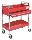 Sunex 8013A Service Cart w/Locking Top and Locking Drawer-Red